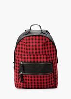Mango Outlet Zipped Backpack