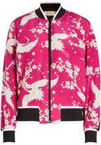 N°21 N21 Printed Silk Jacket