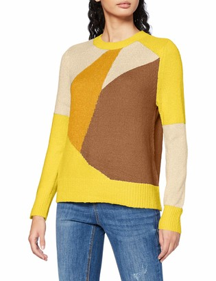Only Women's ONLMARCIL L/S O-NECK PULLOVER CC KNT Sweater