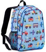 Olive Kids Trains, Planes Handypak Backpack in Blue