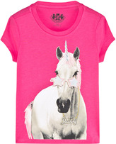 Juicy Couture Hot Pink Unicorn Tee
