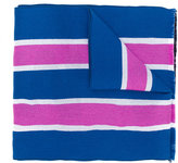 Palm Angels striped scarf - men - Virgin Wool - One Size