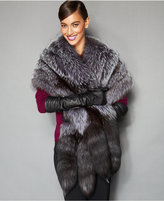 The Fur Vault Fox Fur Stole