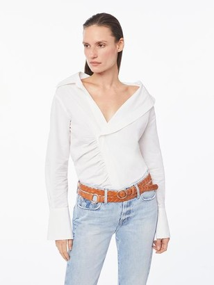 Frame Asymmetric Shirt