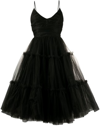 Brognano Tulle Midi Dress