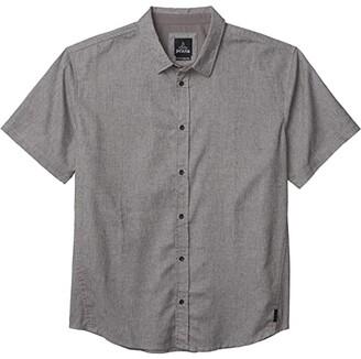 Prana Grixson Shirt (Gravel) Men's Clothing