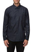 Tavik Men's 'Mcnaughton' Trim Fit Denim Shirt