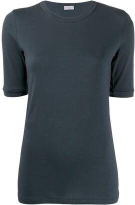 Brunello Cucinelli short-sleeve fitted T-shirt