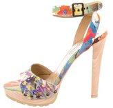 Stella McCartney Printed Platform Sandals