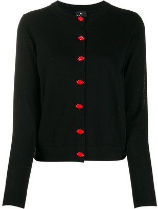 Paul Smith Lip button-up cardigan