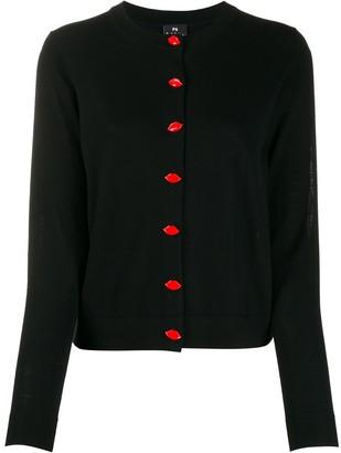 Paul Smith Lip button-up cardigan