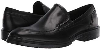 Ecco Maitland Apron Slip-On (Black) Men's Shoes