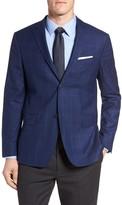 Jack Spade Trim Fit Windowpane Wool Sport Coat