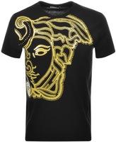Versace Medusa T Shirt Black