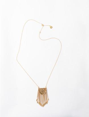 Maje Long Pendant Necklace
