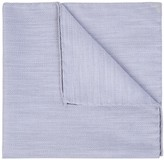 Eton Grey Herringbone Cotton Pocket Square