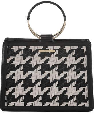 Brahmin Black Belcourt Leather Mod Camille Satchel