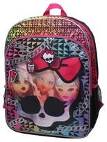 """Mattel Monster High 16"""" Backpack - Black"""