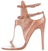 Camilla Skovgaard Burnished Cutout Sandals
