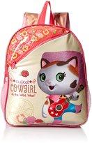 Disney Girls' Sheriff Callie 12 Toddler Backpack