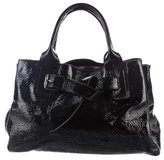 Jil Sander Patent Leather Tote