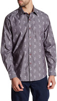 Robert Graham Helensburgh Long Sleeve Paisley Print Classic Fit Woven Shirt