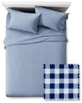 Pillowfort Gingham Sheet Set