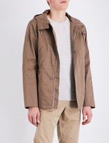 A.P.C. Cliff cotton-blend parka jacket