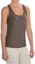 Naked Pima Cotton Rib Tank Top (For Women)