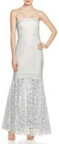 Tadashi Shoji Strapless Lace Gown - 100% Exclusive