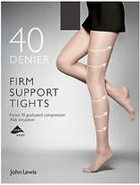 John Lewis 40 Denier Firm Support Tights, Pack of 1