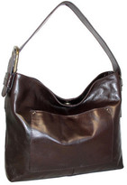Nino Bossi Women's Ursula Leather Hobo Bag