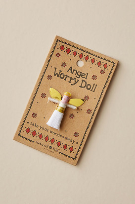 Natural Life Worry Doll By Natural Life in White