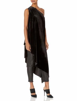 Norma Kamali Women's ONE Shoulder Diagonal Tunic