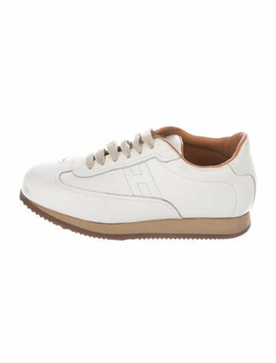 Hermes Quick Sneakers White