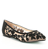 Betsey Johnson Blue by Leah Embroidered Flats