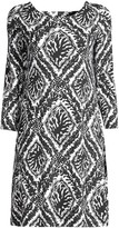 Lilly Pulitzer Ophelia Onyx Reef-Print Shift Dress