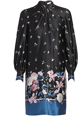 Erdem Michela Dusk Bouquet Shift Dress