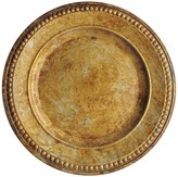 Jay Import Gold Charger Plate