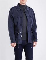 Ralph Lauren Purple Label Four-pocket cotton-blend coat