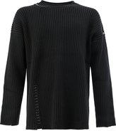 Ports 1961 pierced seams sweatshirt