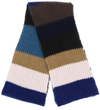Marni Colour-Block Scarf