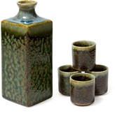 Miya Company Green Irabo Sake Set