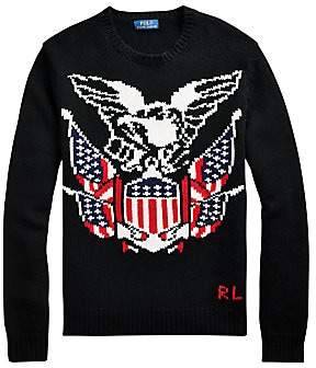 Polo Ralph Lauren Men's Eagle Intarsia Wool & Cashmere Sweater