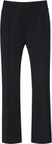 Lanvin High-Rise Cropped Wool Pants