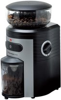 Espressione Professional Conical Burr Coffee Grinder, Black/Silver - Black/Silver