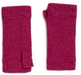 Johnstons of Elgin Wildberry Cashmere Wristwarmer Gloves