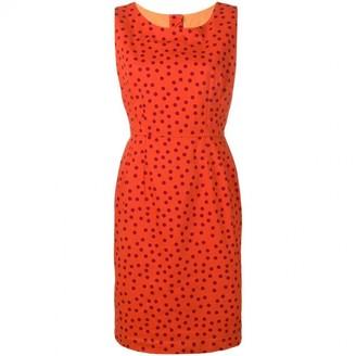Dolce & Gabbana Orange Cotton Dresses