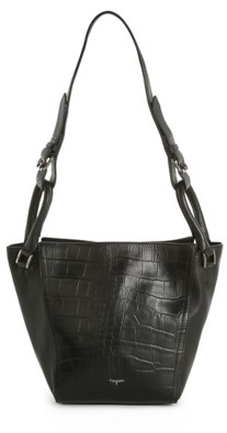 Tahari Jordan Leather Convertible Mini Tote