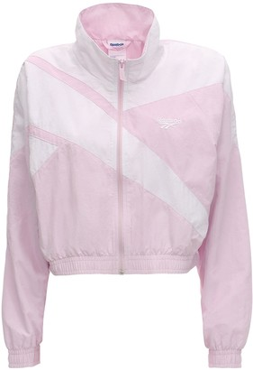 Reebok Classics Cropped Zip-up Track Top
